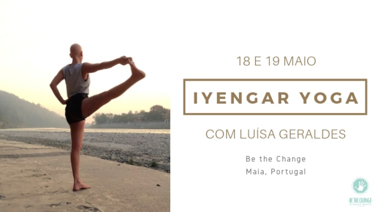 Fim de semana no Be the change Be yoga