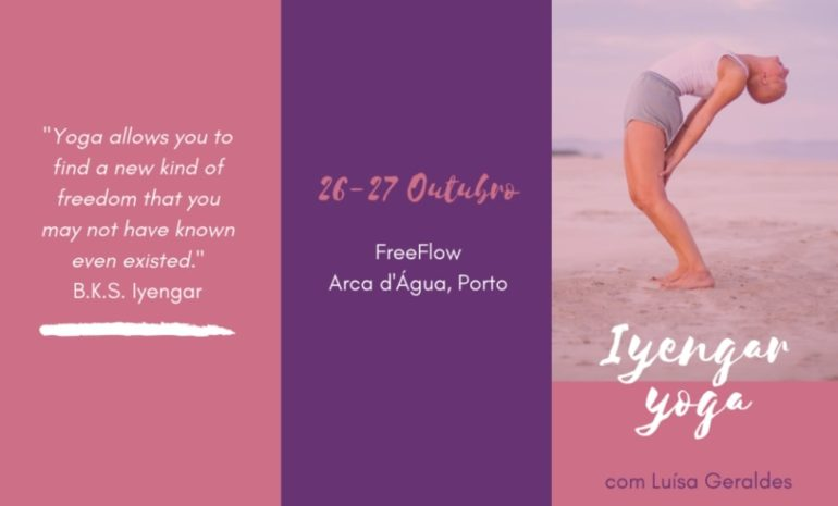 Yoga weekend at Freeflow Arca d'Agua in October 2020