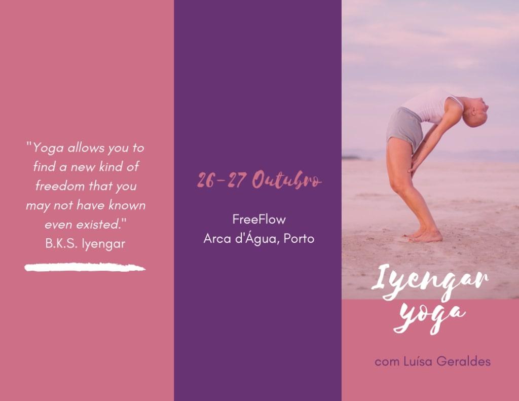 Yoga weekend at Freeflow Arca d'Agua in October 2020