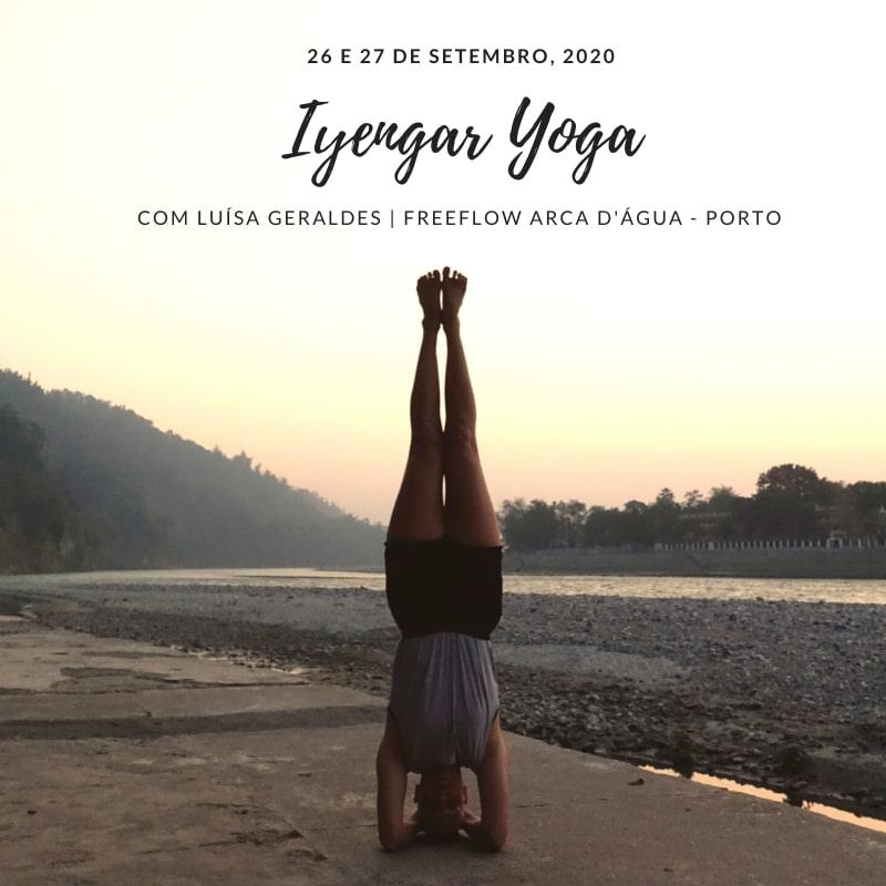 Yoga weekend at Freeflow Arca d'Agua in September 2020