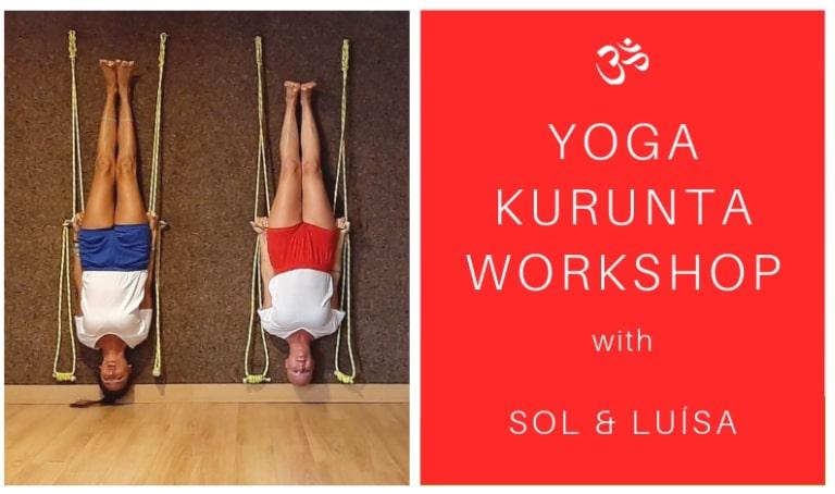 Yoga Kurunta em Sol Viegas yoga studio