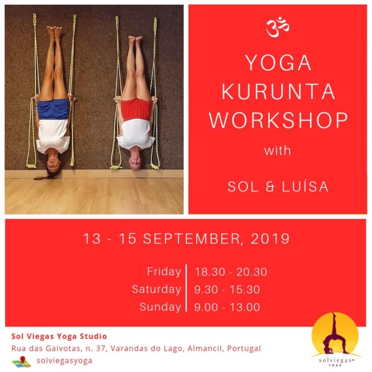 Yoga Kurunta at Sol Viegas yoga studio