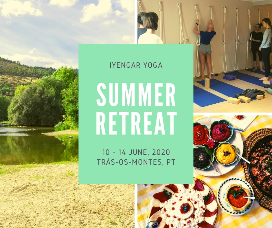 Summer yoga retreat 2020