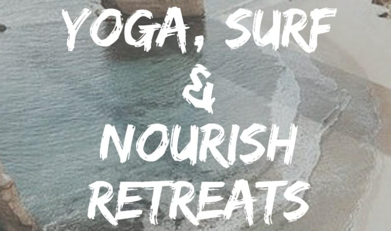 Retiros de yoga e surf