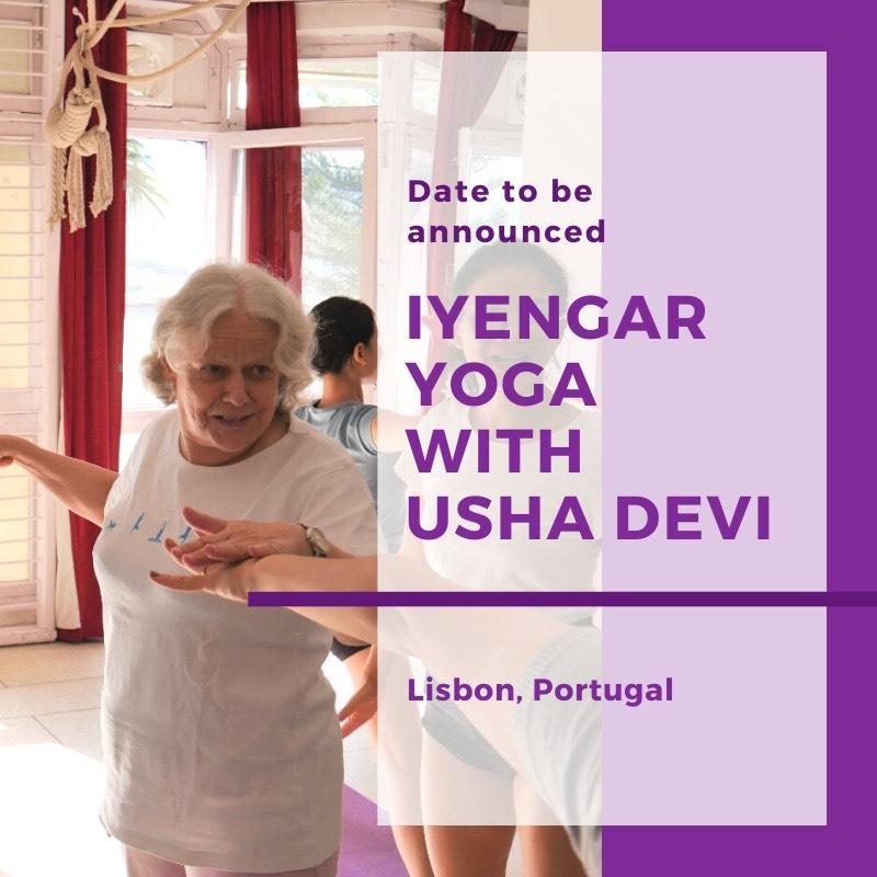 Iyengar Yoga with Usha Devi
