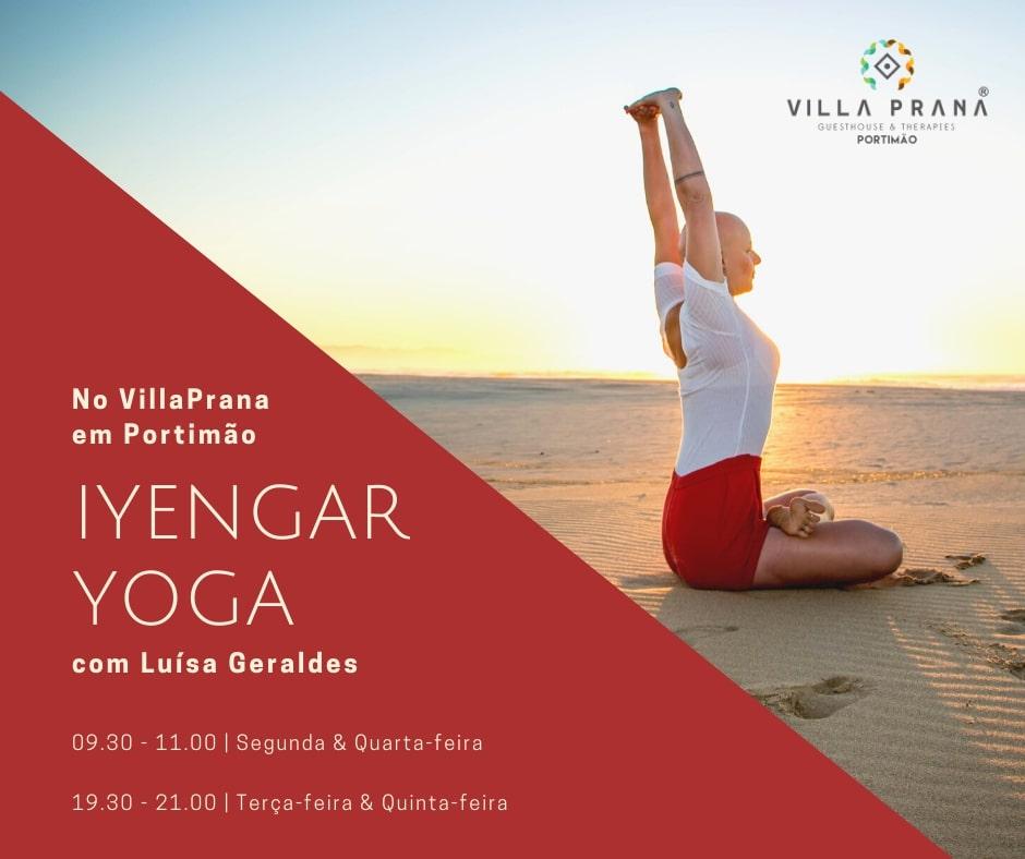 Classs at Villa Prana Yoga Studio